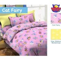 Jual Seprei Katun Lokal (Animal 243 Cat Fairy) uk. 180x200 Murah