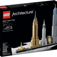 Jual LEGO ARCHITECTURE 21028 : New York City Murah