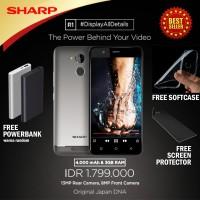 Smartphone SHARP R1 GRATIS screen protector + softcase + powerbank