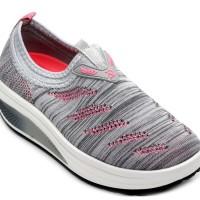 Jual Sepatu Slip On / Sneakers Wedges Sodalite SD63-12 Grey Murah