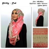 Jual Prilly | Batik | Bahan Paris | Pashmina Motif / Hijab Impor / Scarf Murah
