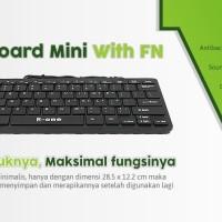 Keyboard Mini Eksternal R-ONE With FN Murah Meriah