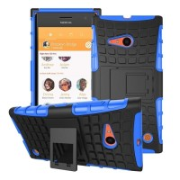 Jual Rugged Armor Hard Soft Case Bumper ClipStand Nokia Microsoft Lumia 430 Murah