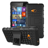 Jual Rugged Armor Hard Soft Case Cover Casing for Nokia Microsoft Lumia 535 Murah