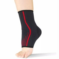 Jual Kaos Kaki Ankle - Black/Red Murah