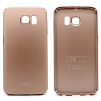 Samsung S6 Flat HardCase UME DELKIN GEA Soft Touch Baby Skin SlimCase