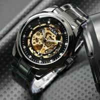 Jual Jam S11 Jam Tangan Pria Cowok Rolex Skeleton BigSize Diamond SW Ranta Murah