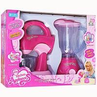 Jual Mainan Anak Perempuan Blender dan Mixer Baterai Murah