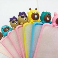Jual Softcase 3D Brownie Animal Samsung Galaxy J2 Prime & J7 Prime Murah