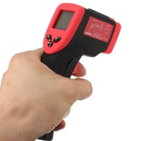 Jual Mini Digital Infrared Thermometer 50-500C - High Quality - Promo - RED Murah