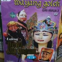 Jual VCD Original WAYANG GOLEK . Lakon : Dewi Nila Ningrum . Isi 4 disc . Murah