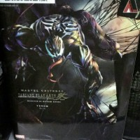 Jual play arts kai action figure venom Murah