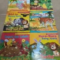 Buku anak dongeng dunia binatang(dua bahasa inggris indonesia)