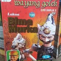 Jual VCD Original WAYANG GOLEK . Lakon : Bima Murka . Isi 4 disc . Murah