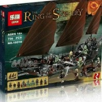 Jual Lego Lepin 16018 LOTR Lord of the Ring Pirate ship Ambush 756 Pc Murah