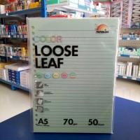 Loose Leaf A5 warna isi 50 lembar