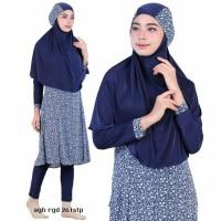 Jual Baju Renang Muslimah Syari Panjang 261stp Biru L XL Murah