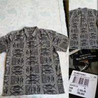 Baju Kemeja Quiksilver Samhodailyshid Grey Original
