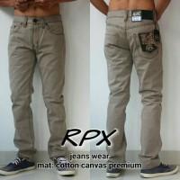 RPX Celana panjang Kanvas Premium import