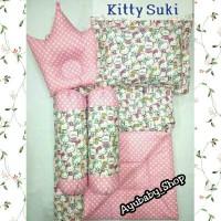 Jual Kitty Suki | Bedset BedCover AlasTidur Baby Lengkap Motif Lucu Murah