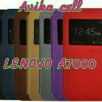 Flipcover LENOVO A7000 / Sarung hp / Soft