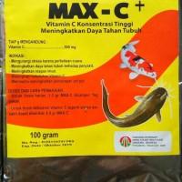 Max C+ Vitamin Ikan Dosis Tinggi