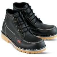 Jual Sepatu pria safety boots kulit | Safety shoes distro Bandung-Golfer 78 Murah
