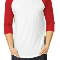 O Neck Raglan 3/4 24 S 100% Cotton Size S/M