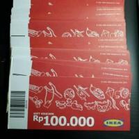 Voucher IKEA Alam Sutera Rp 100.000 100 ribu