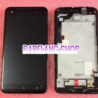 HTC SMALL Butterfly Droid DNA X920e VERIZON LCD Screen (dengan Frame)