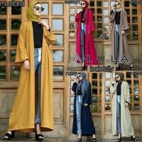 long cardigan panjang maxi outer cardy polos cardi hijab muslim casual