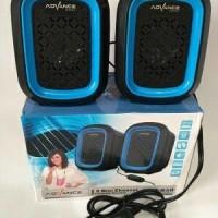 Speaker Laptop / PC Aktif Advance Usb Duo-050 + Volume Control
