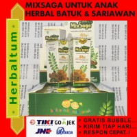 Daun Saga Tetes - Obat Herbal Sariawan Amandel Batuk Panas Dalam