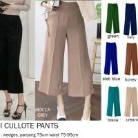 Midi Kulot Pants / Celana Midi Kulot