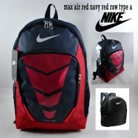 Tas Ransel Nike Backpack Sekolah Pria Nike Max Air Red Navy Red Row