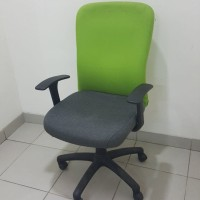 Kursi Kerja Staff / Karyawan  (KK-2 Hijau) Bekas