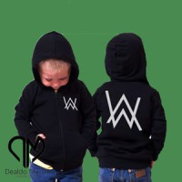 Jual Hoodie Zipper Alan Walker ( Anak-Anak ) #7 - boy clothing Murah