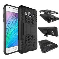 Rugged Armor Hard Soft Case Cover Casing Bumper Samsung Galaxy J3 2016