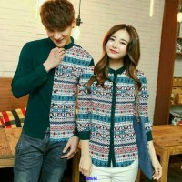 Jual cp bohemia tosca-baju couple-couple terbaru-lengan panjang-sale-MC Murah