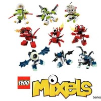 LEGO Mixels Series 4 - Complete set of 9 Orbitons Infernites Glowkie