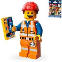 LEGO Minifigures Series The Movie - Hard Hat Emmet Minifigure Seri #