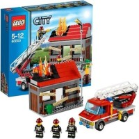 LEGO City - 60003 Fire Emergency Set Building House Truck Police Toy