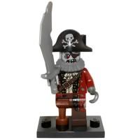 Jual LEGO Minifigures Series 14 Monsters-71010 Zombie Pirate Monster 2 NE  Murah