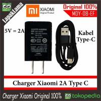 [TYPE-C] ! Charger Hp Xiaomi 2A Original 100% Usb Type-C CHARGERAN ORI