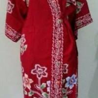 Jual kimono batik kencana ungu Murah