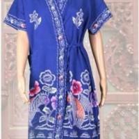 Jual kimono batik kencana ungu ukuran all size D daster Murah