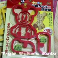 Mickey 3D Cookies Cutter
