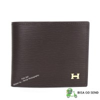 Dompet tidur pria kulit asli murah terbaik - HERMES 128-2619 COFFEE