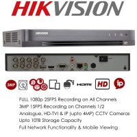 DVR Turbo Hikvision 8CH H265+ DS-7208HQHI-K2 NEW VERSION 4.0