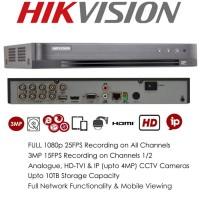 DVR Turbo Hikvision 8CH H265+ DS-7208HQHI-K1 NEW VERSION 4.0